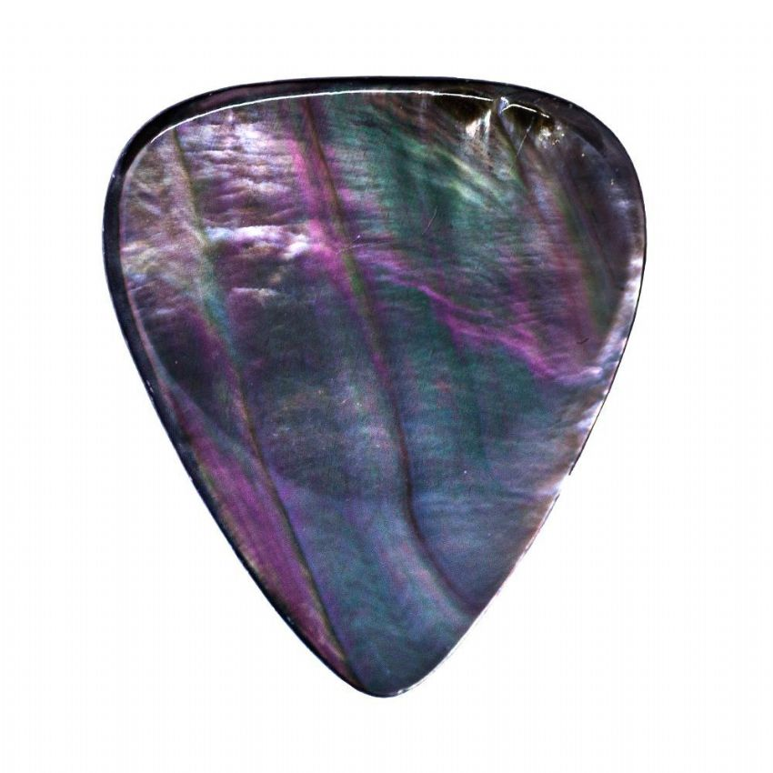 Shell Tones - Black Pearl - 1 Guitar Pick | Timber Tones